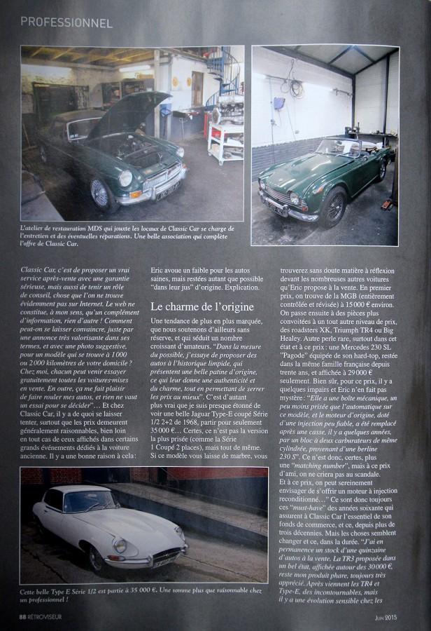 Rétroviseur 312 Classic Car P88