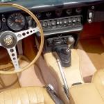 Jaguar Type E cabriolet 4.2l 1968 interieur