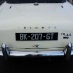Triumph TR4 A IRS 1966 arrière