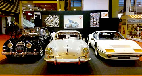 Classic Car | Rétromobile 2016