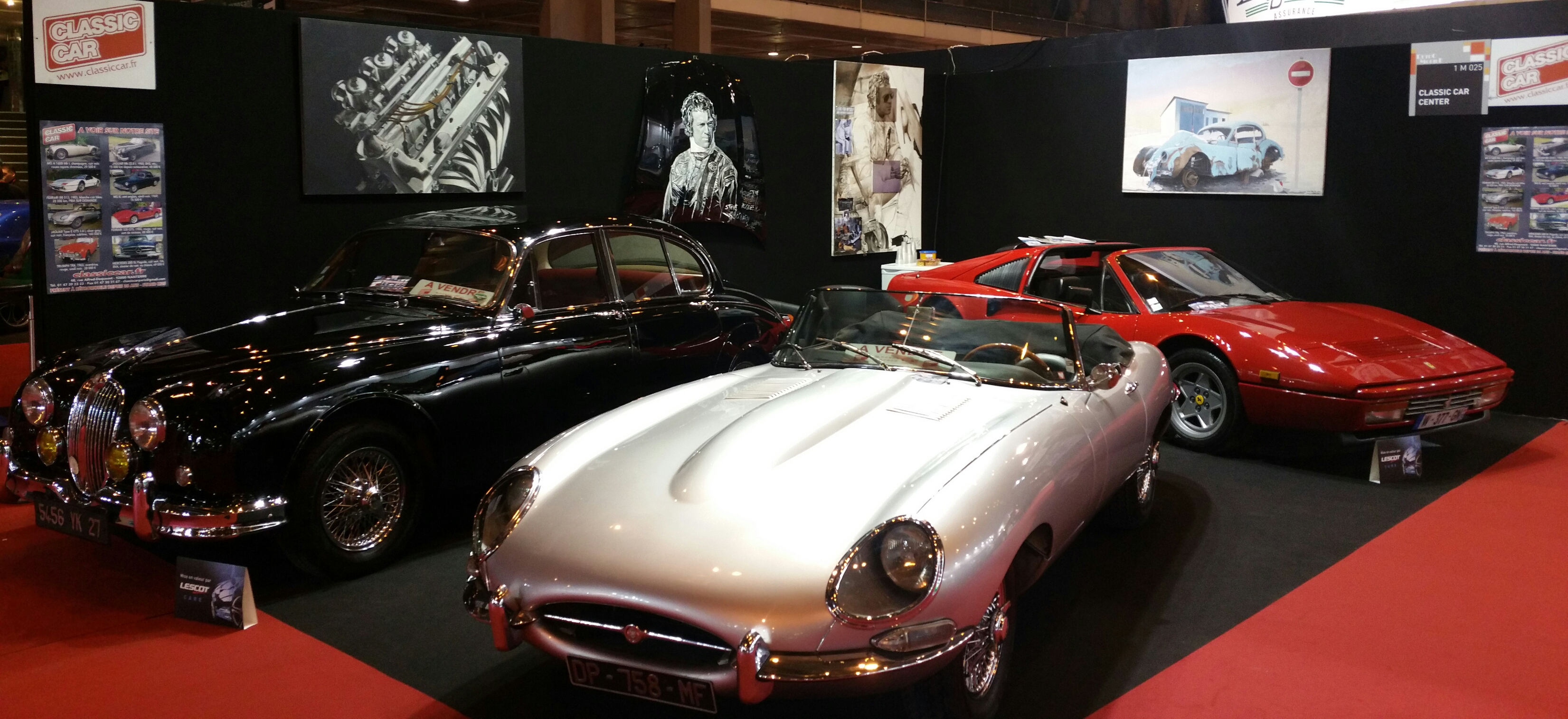 classic car a retromobile 2018